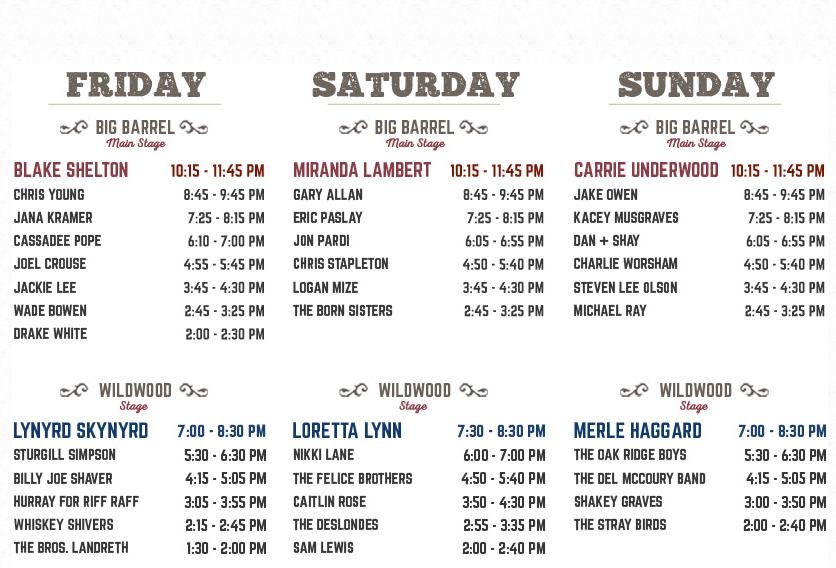 Photo: Big Barrel Music Festival