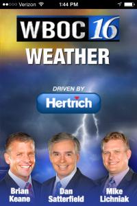 Download the WBOC Weather App - DelmarvaLife
