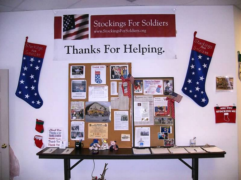 Courtesy: Stockings For Soldiers