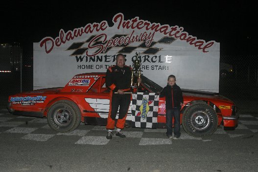 LITTLE LINCOLN STOCK CARS WINNER MEL JOESPH JR