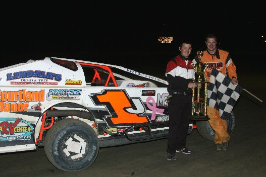 NAPA BIG BLOCK MODIFIED WINNER JORDAN WATSON