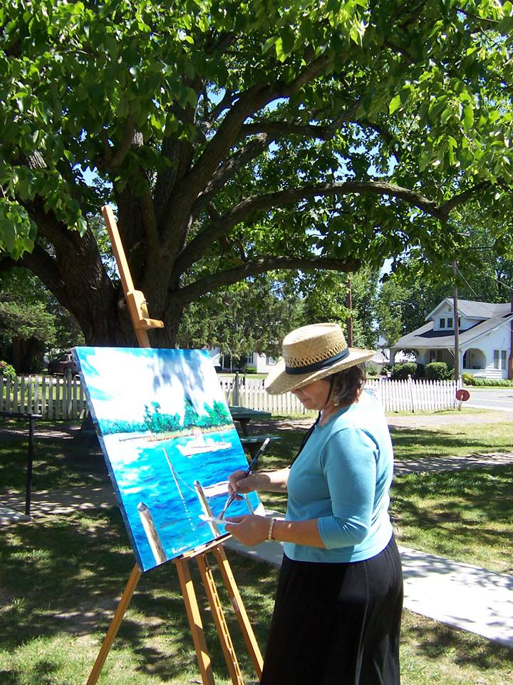 Paint the Town- Historic Stevensville- The 1st Saturday of each month Historic Stevensville comes alive! (Photo: Eat, Drink, Buy Art)