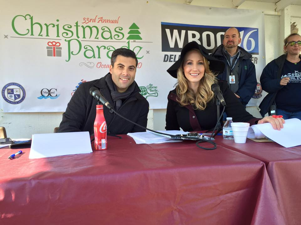 WBOC's Chris Weimer and Maxine Bentzel