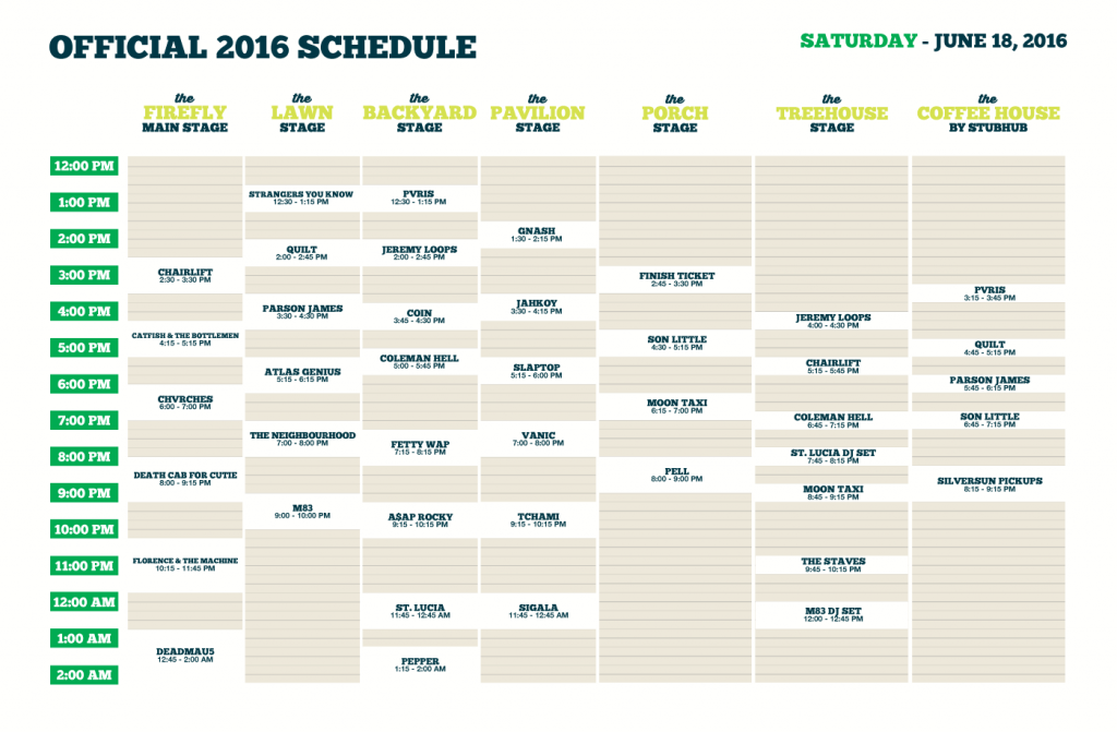 d9c9ad193ad0 Firefly Schedule for Saturday (Source: https://fireflyfestival.com/)
