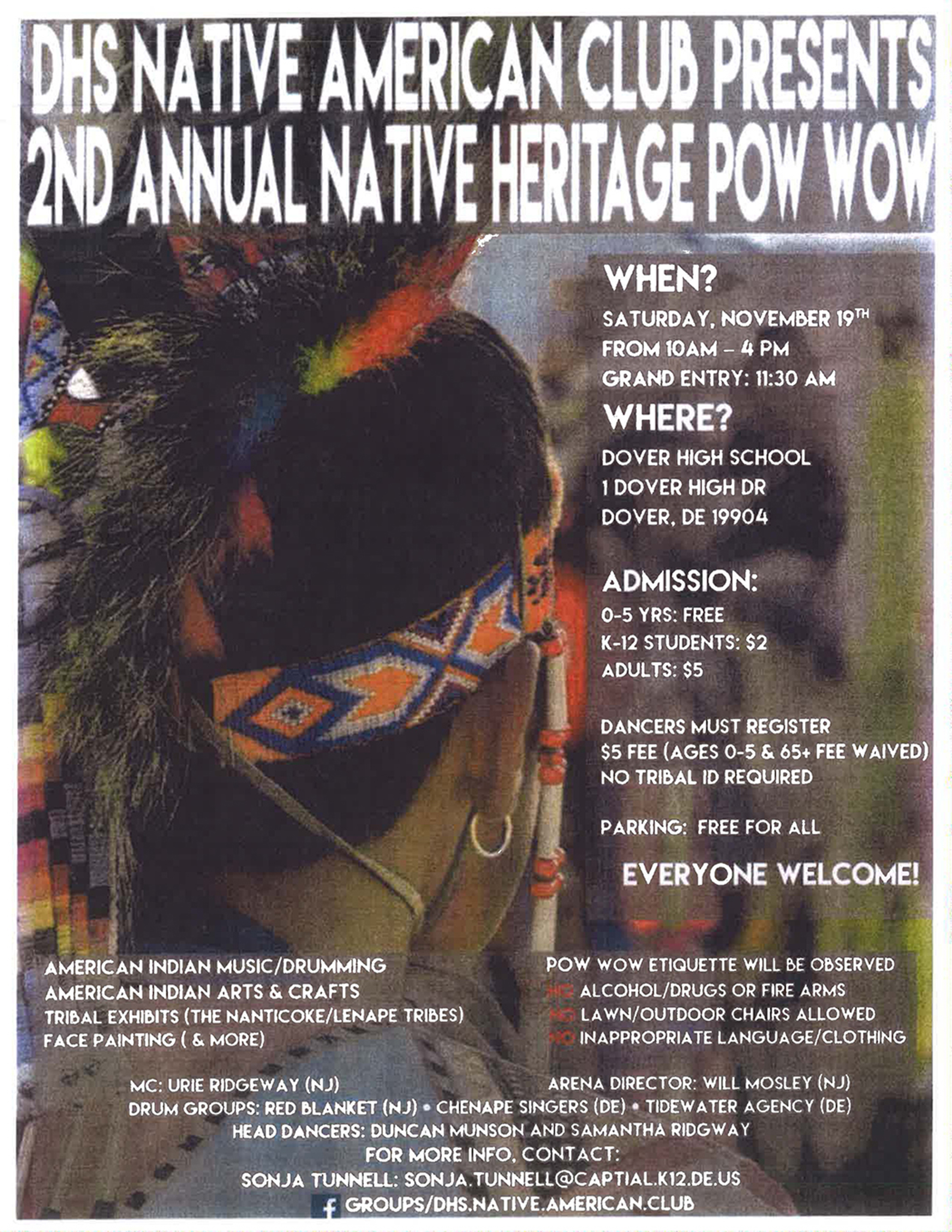 2nd Annual Native Heritage Pow Wow - DelmarvaLife