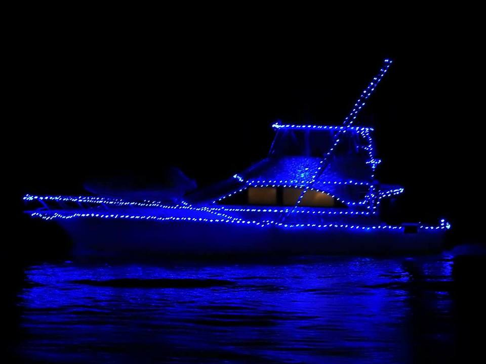 Fort Lauderdale Christmas Boat Parade.Wicomico Yacht Club Holds Annual Christmas Boat Parade
