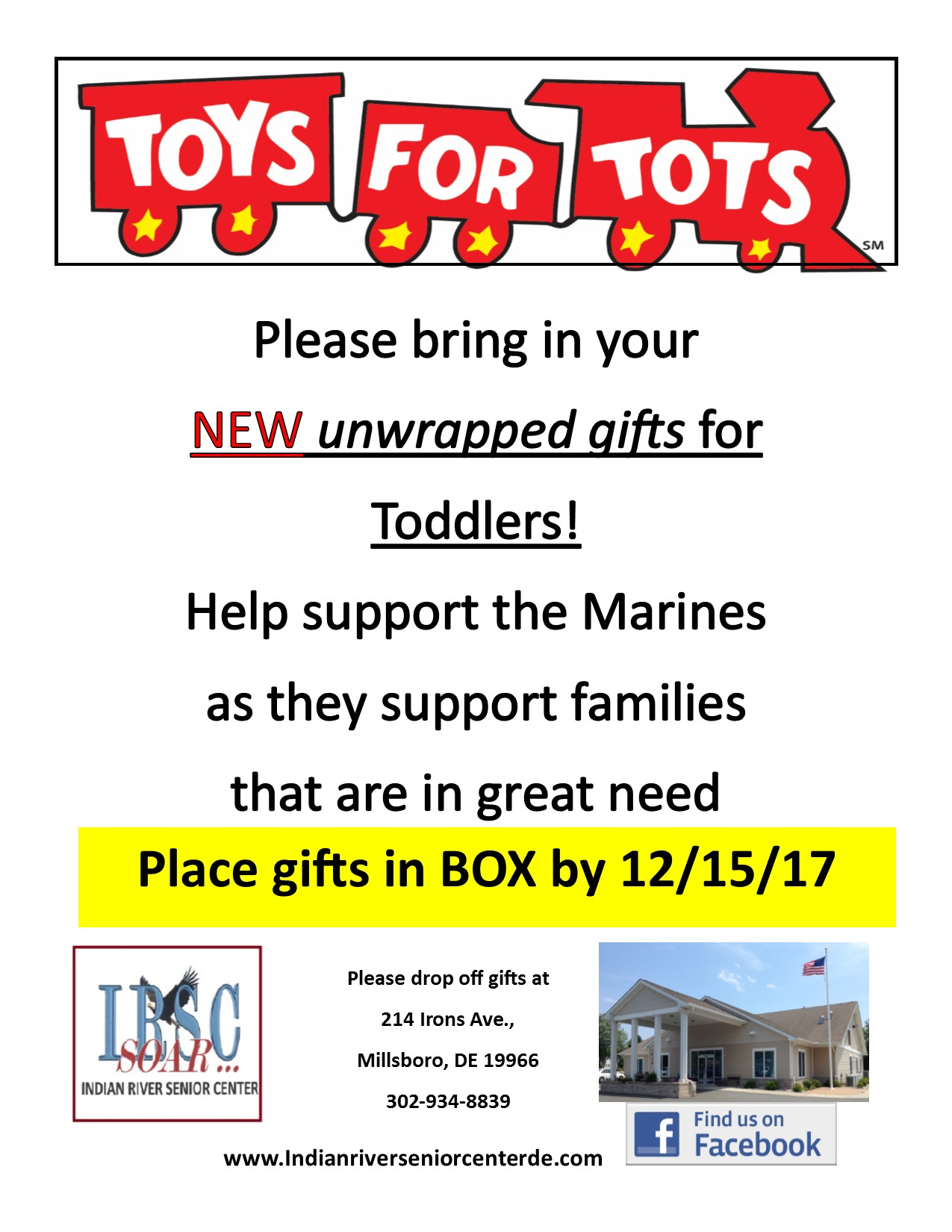 Toys 4 Tots Collection Delmarvalife
