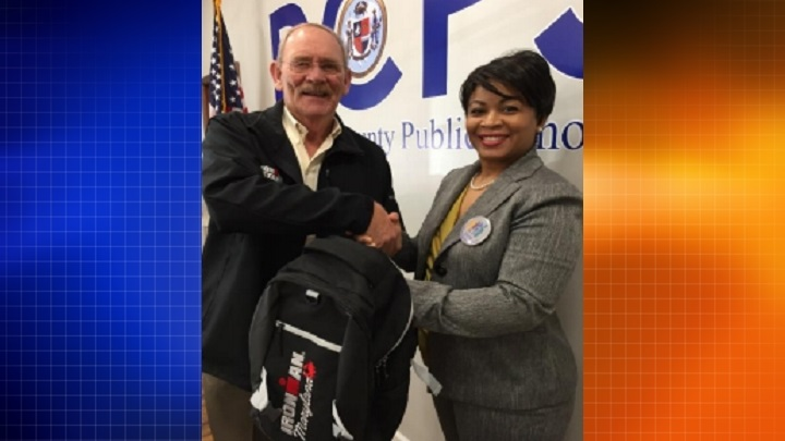 Ironman Maryland Donates Backpacks to Dorchester County