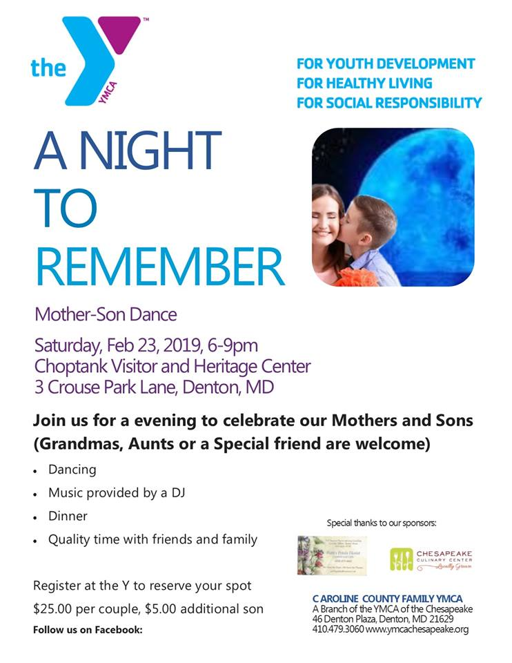 A Night to Remember Mom and Son Dance - DelmarvaLife