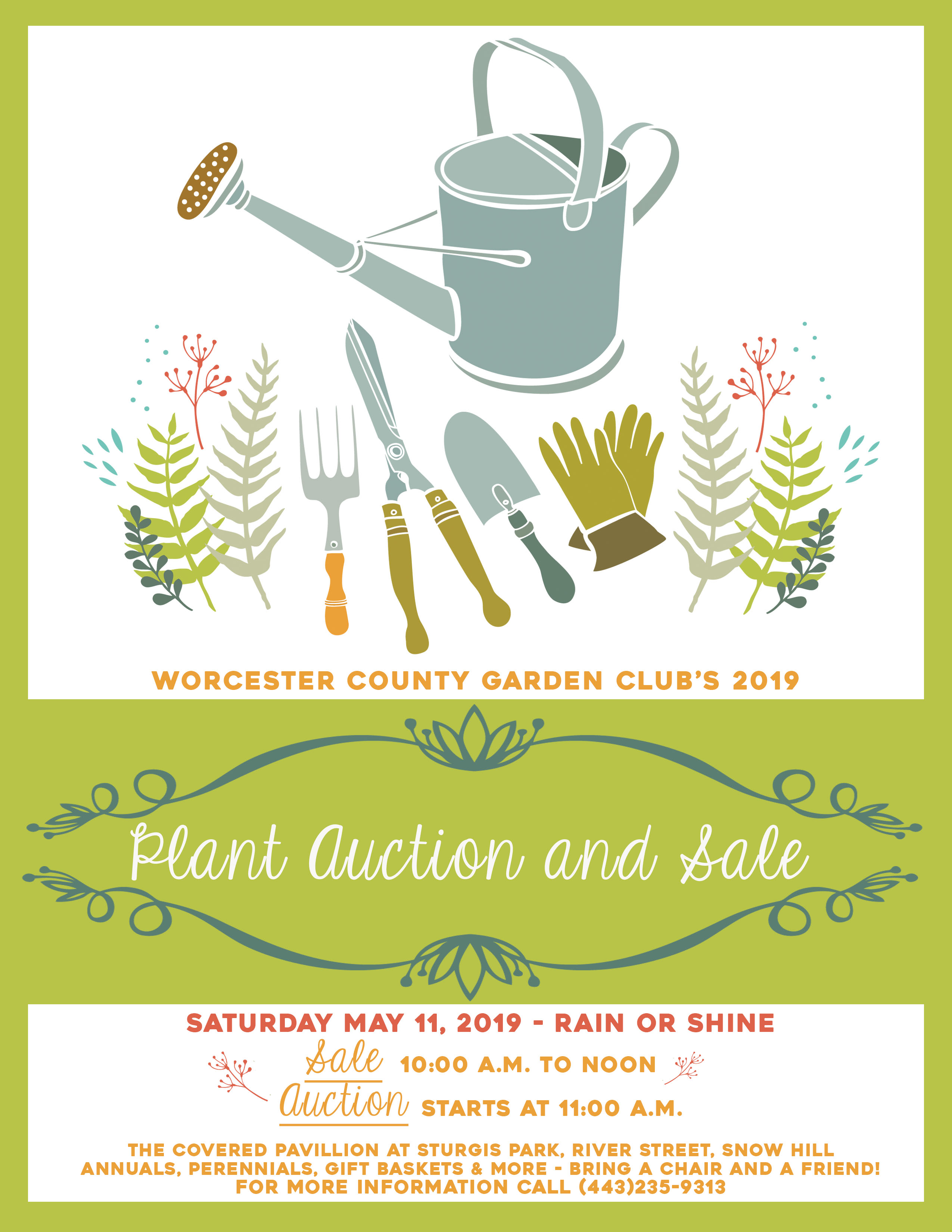 Worcester County Garden Club S 2019 Plant Auction And Sale