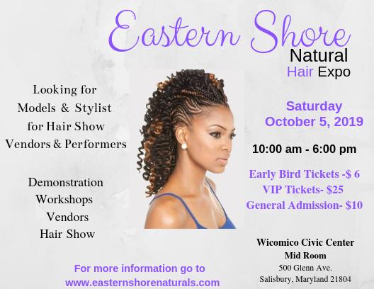 Eastern Shore Natural Hair Expo - DelmarvaLife