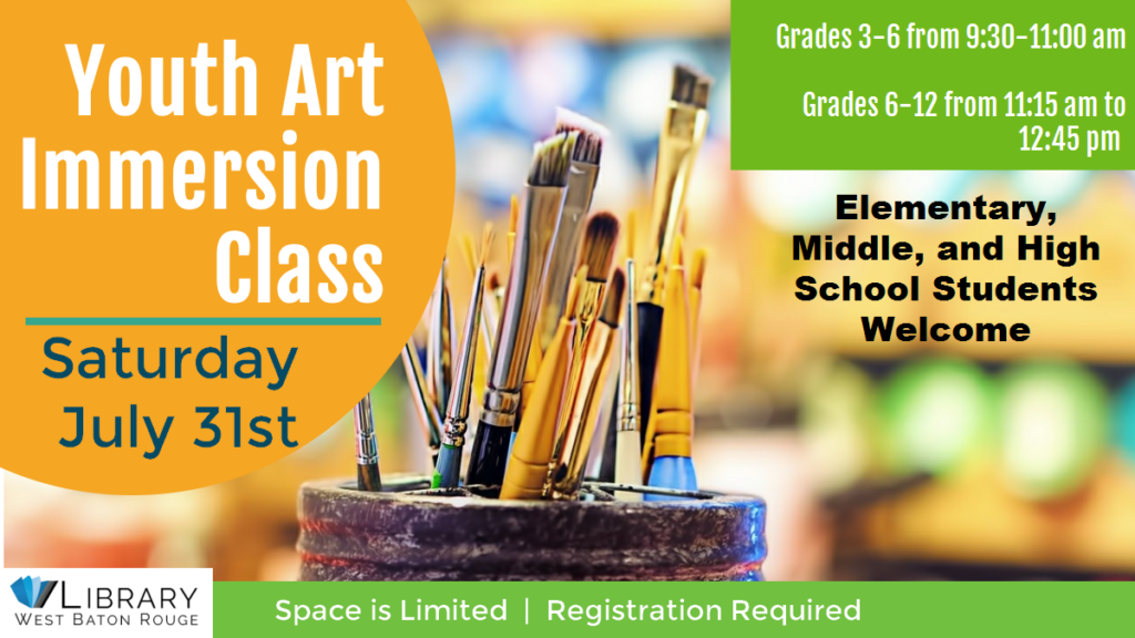 Youth Art Immersion Class