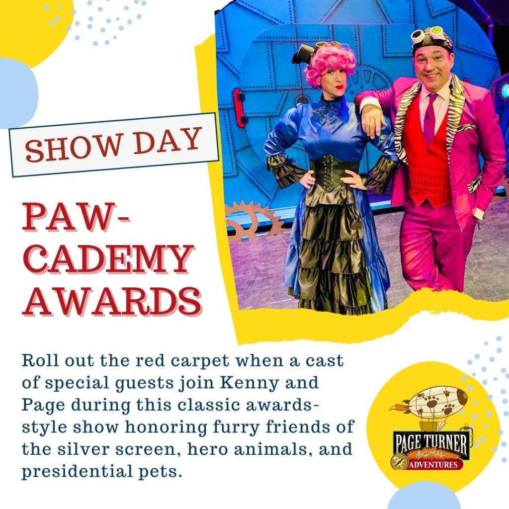 Show Day: The Paw-cademy Awards