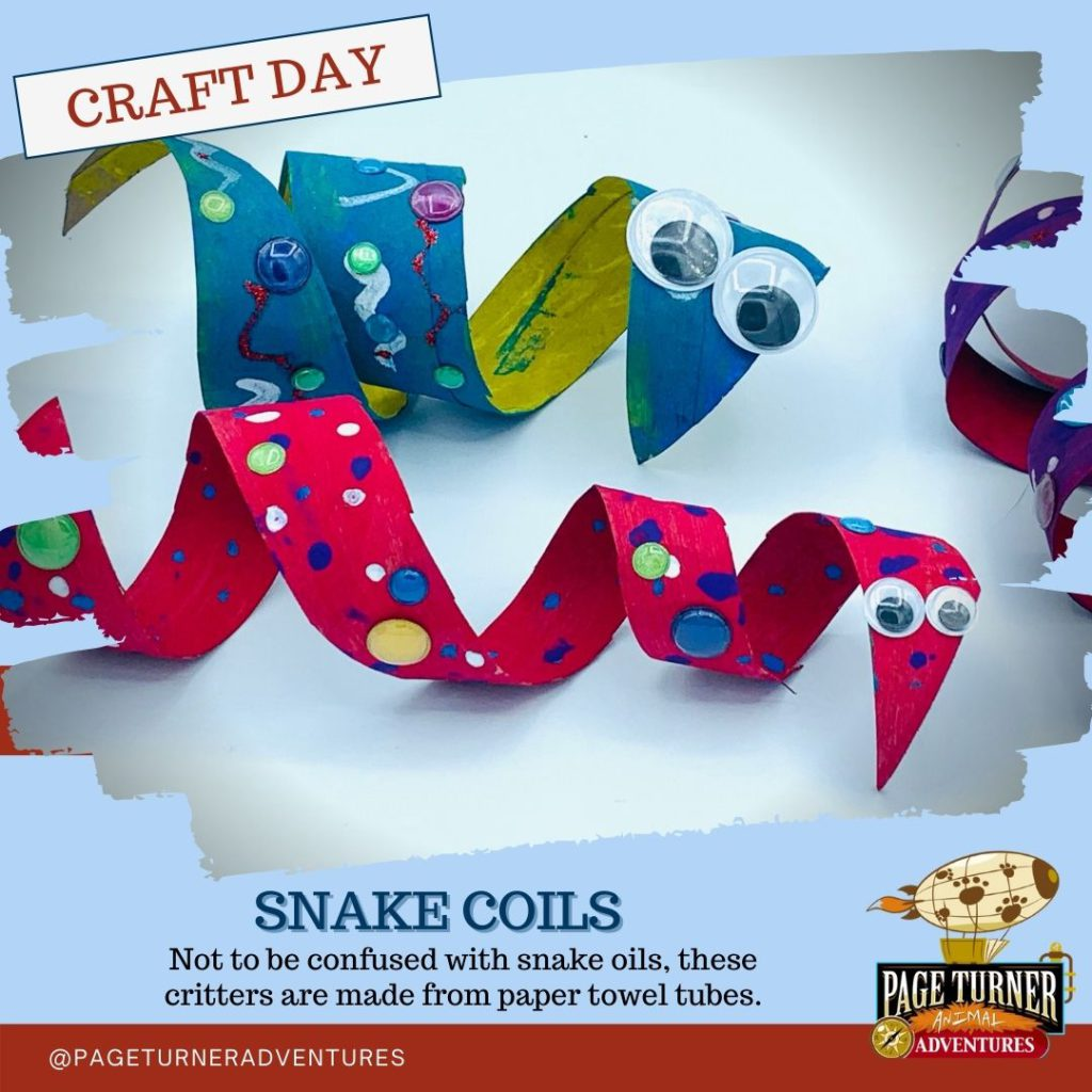 Craft Day – Snake Coils