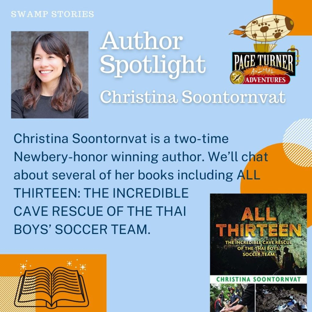Virtual Author Visit Day – Christiana Soontornvat