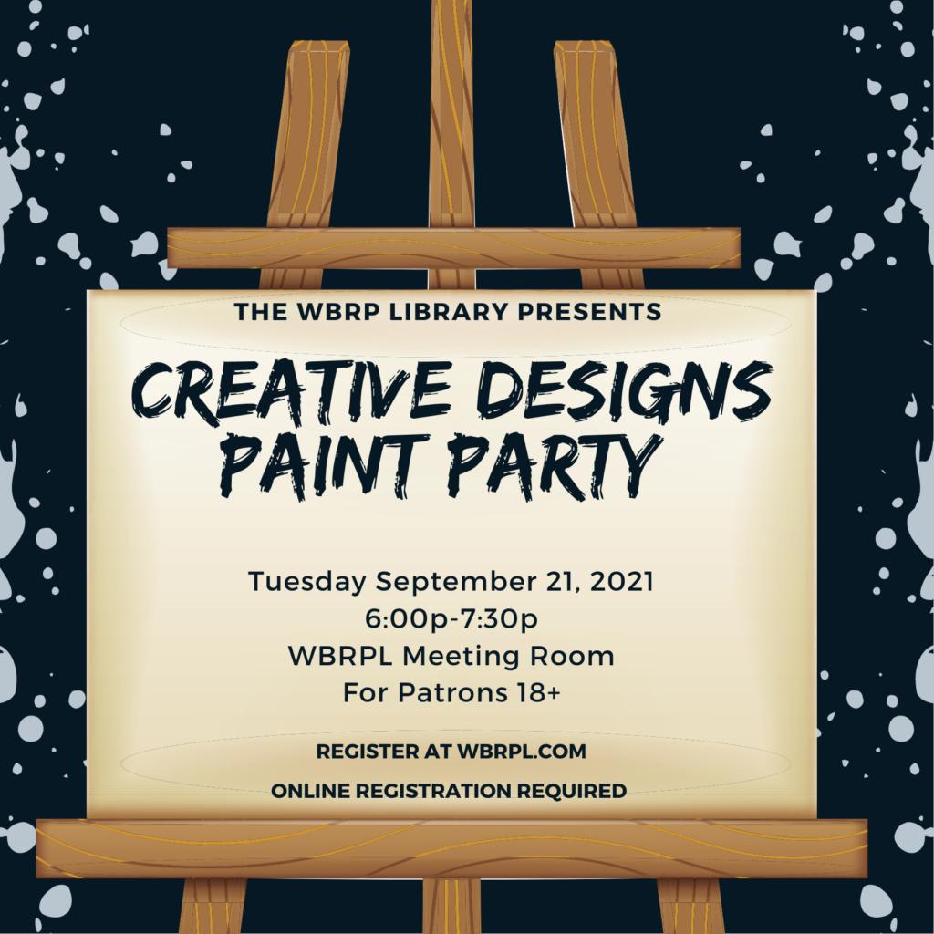 Creative Designs Paint Party