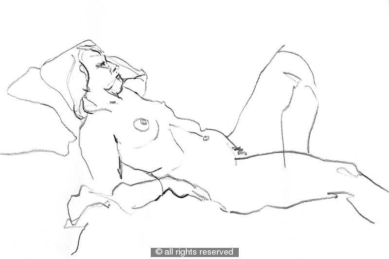 A2 size original drawing No.16 - graphite pencil
