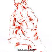 Footloose A2 size original drawing