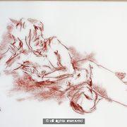 A2 size original drawing 3796