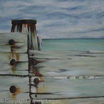Breakwater with Rust
