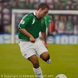 'THE STRIKE'      DAVID HEALY MBE (2008)
