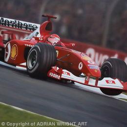 'VICTORY AT MONZA'  Michael Schumacher