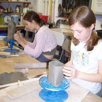 Clay workshop for children