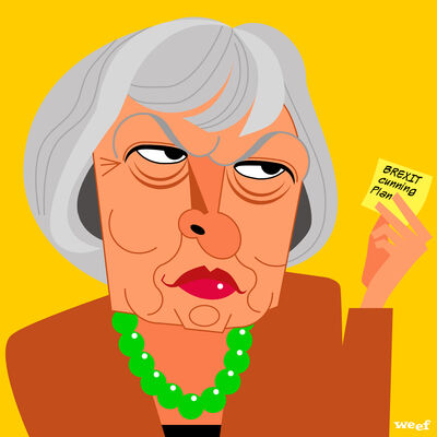 Theresa May and her cunning plan