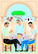 Three Greek Guys