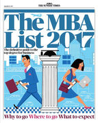 MBA cover for The Sunday Times