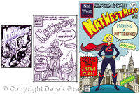 Nat West Superhero woman