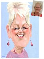 Fizzer caricature portrait