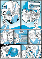Corporate comic strip page 2