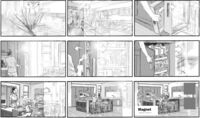 Kitchen storyboard