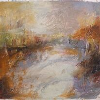 Landscape oil sketch. No.154