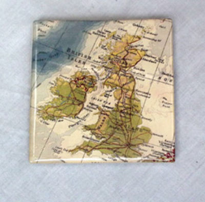 British Isles Coaster Tile