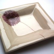 Small Square Allium Dish