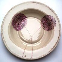 Large round allium dish