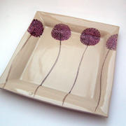 Large Square Allium Dish
