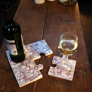 Table Tiles,Map, western Europe