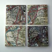 Map Coaster Tiles