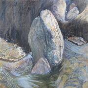 Stream boulder