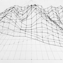 Contour chart Coniston