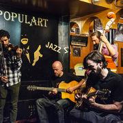 Menilmontant Swing at Cafe Jazz Populart