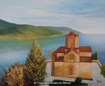 The Church of St John, Lake Ohrid