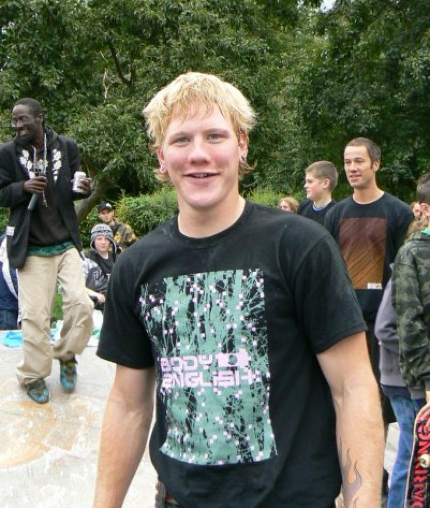 Ricky, won the bmx comp at the jam in 2008 and 2009 - representin Team b
