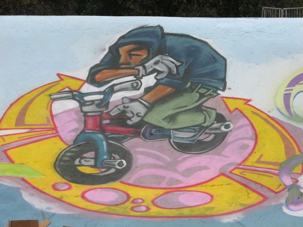 BMX -by WAY team awol - st george paint jam 2007