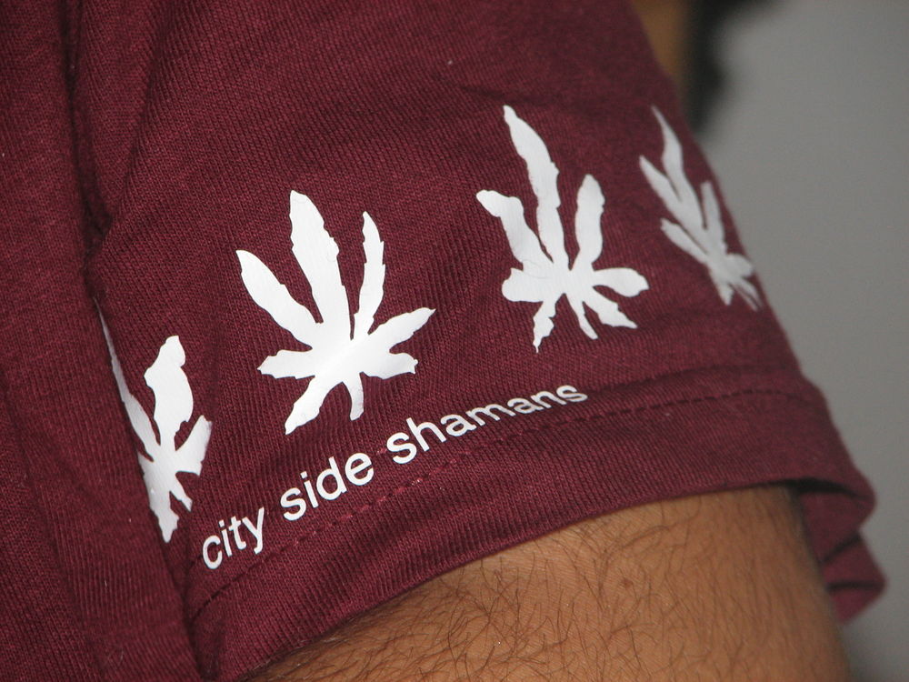 New t shirts - City Side Shamans in ya area...