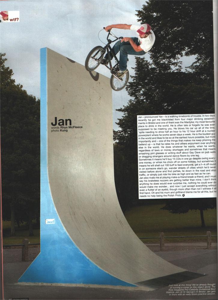 Jan interview - Ride 2005