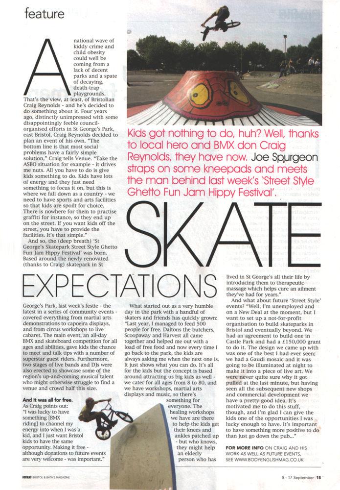 Venue Article - Sept 2006